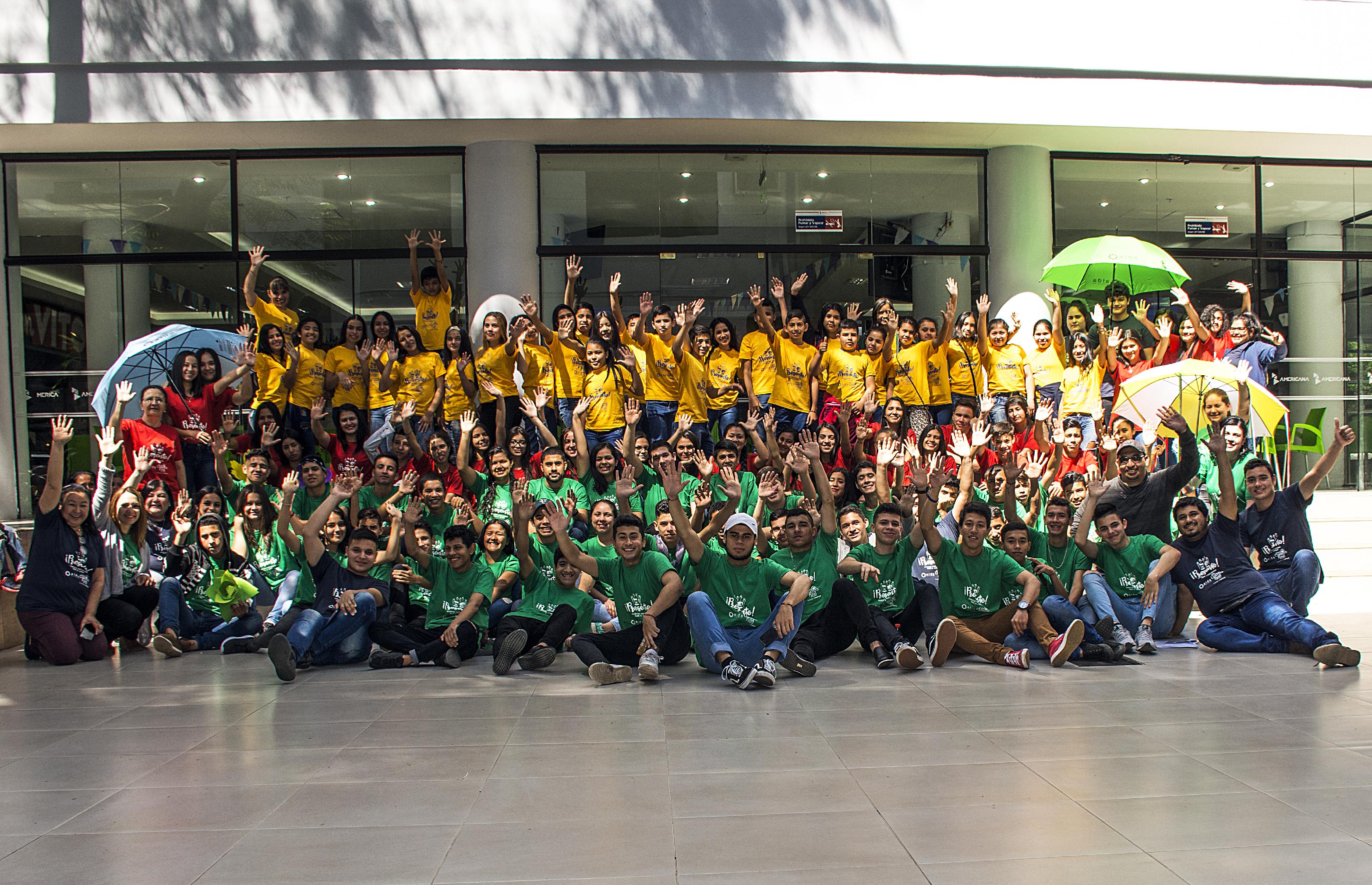 ¡PRESENTE! La juventud participando para el cambio