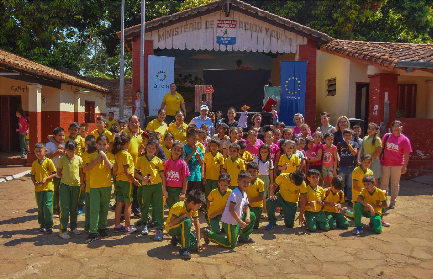 Show de títeres para la promoción de los derechos de la infancia