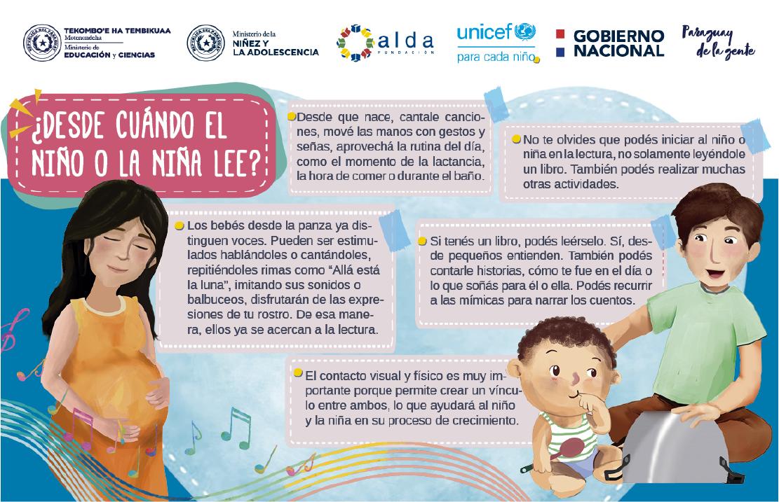 Alda colabora con Aprendo en casa de UNICEF